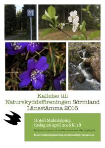 kallelse Naturskyddsföreningen Sörmland 2016